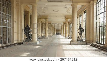 Potsdam, Berlin, Germany, 17th August 2017, Orangery Palace In Sanssouci Park