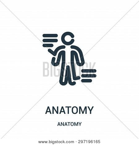 Anatomy Icon Isolated On White Background From Anatomy Collection. Anatomy Icon Trendy And Modern An