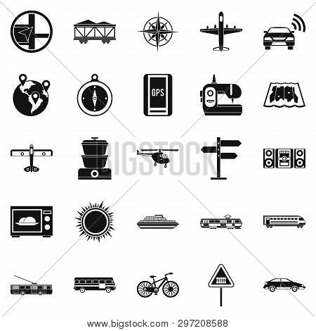 Progressive Technology Icons Set. Simple Set Of 25 Progressive Technology Icons For Web Isolated On
