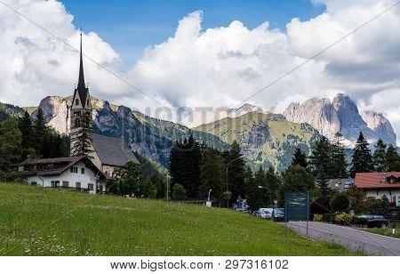 Vigo Di Fassa, Val Di Fassa, Trento, Trentino Alto Adige In Italy