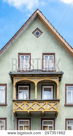 An image of a typical house in Nagold Germany