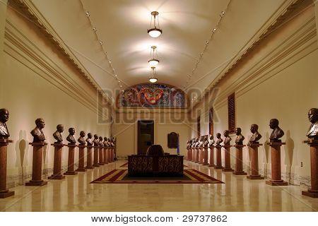 Inside Oklahoma state capitol