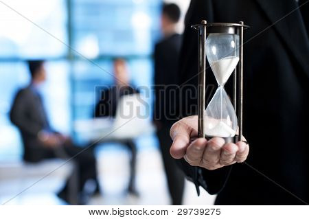 Business Hour Glass
