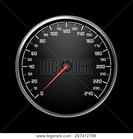 Car Speedometer Auto Vector & Photo (Free Trial) | Bigstock