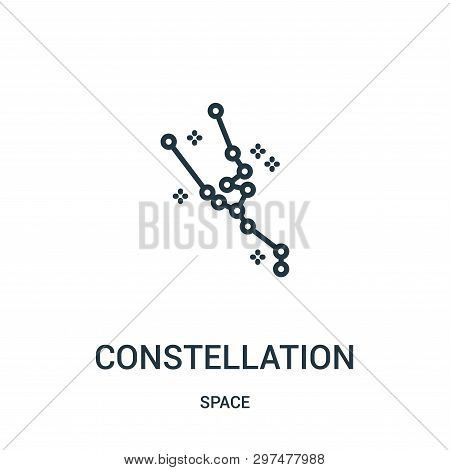 Constellation Icon Isolated On White Background From Space Collection. Constellation Icon Trendy And