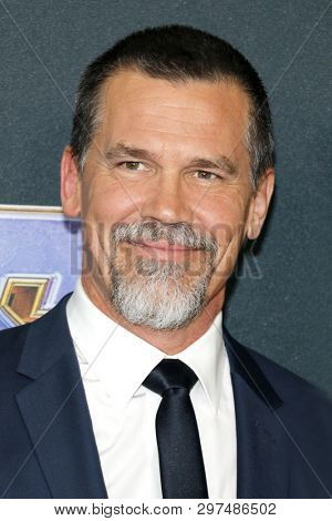 Josh Brolin at the World premiere of 'Avengers: Endgame' held at the LA Convention Center in Los Angeles, USA on April 22, 2019.
