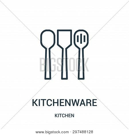 Kitchenware Icon Isolated On White Background From Kitchen Collection. Kitchenware Icon Trendy And M