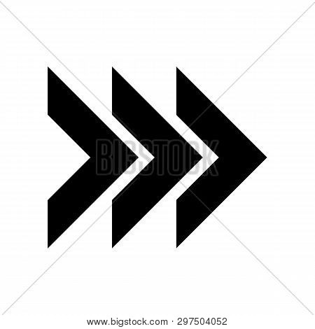 Right Arrow Icon Isolated On White Background. Right Arrow Icon Simple Sign. Right Arrow Icon Trendy