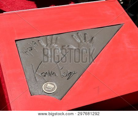 LOS ANGELES - APR 23:  Kevin Feig Handprints at the Avengers Cast Members Handprint Ceremony at the TCL Chinese Theater on April 23, 2019 in Los Angeles, CA