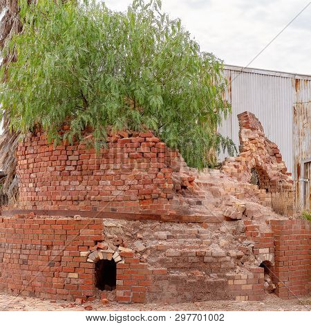 An Old Disused Brick Pottery Kiln Once Used To Make Household Goods