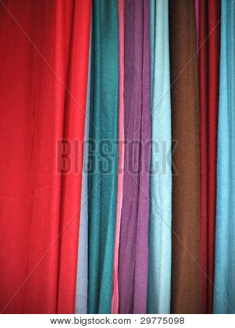 Colorful Cloth Scarves