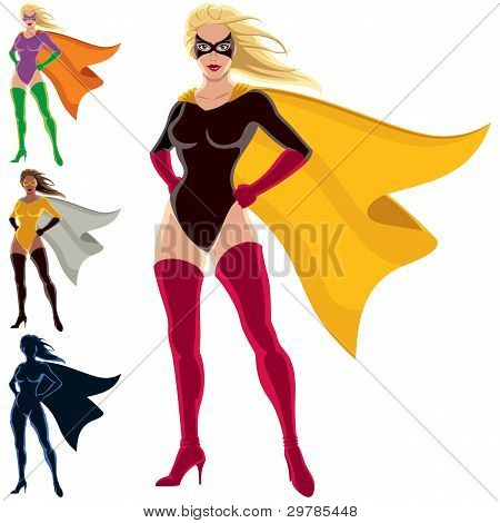 Superhero - Female