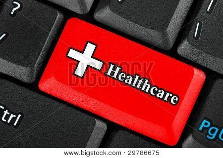 Healthcare Icon Button
