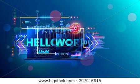 Online Learning Programming Or Coding On Different Computer Languages For Mobile, Desktop Platform.