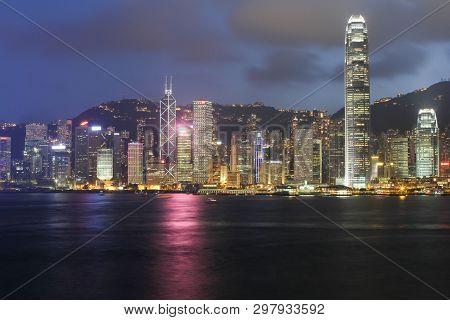 The Night Of Scene Of Hong Kong At 2010