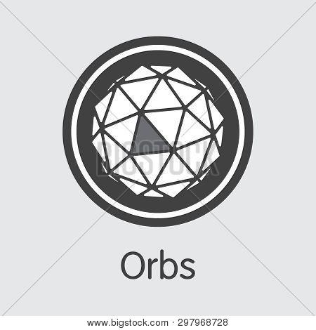 Orbs - Orbs. The Trade Logo Of Coin Or Market Emblem.