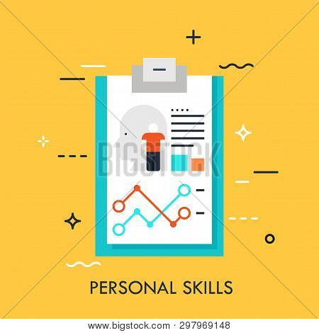 Recruitment, Human Resources And Personnel Selection Concept, Curriculum Vitae Icon. Job Application