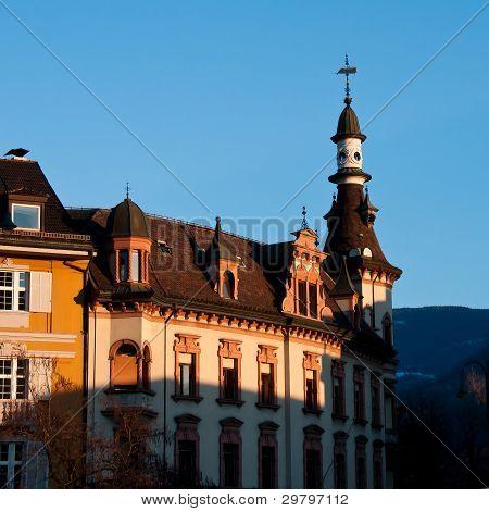 Bolzano / Bozen : Piazza Walther von der Vogelweide