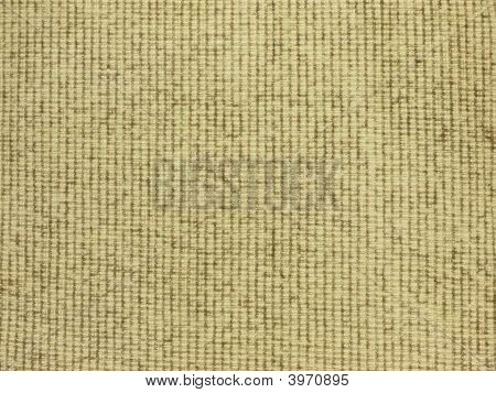 Background of beige cotton fabric with texture poster