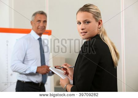 A busy personal assistant