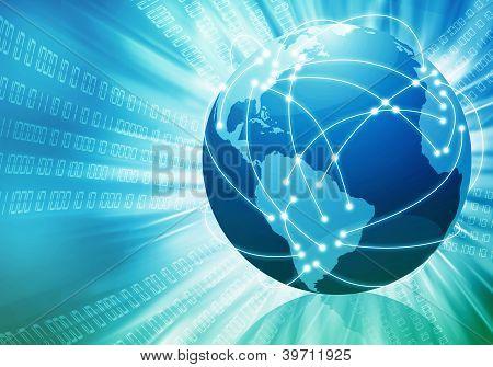 weltweit Internet-Konzept