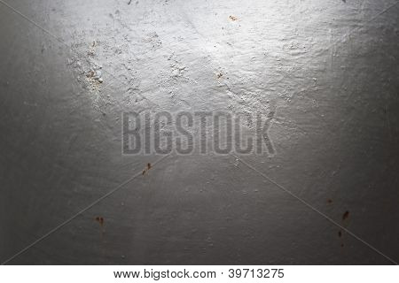 Smoth Metal Texture With Rusty Spot