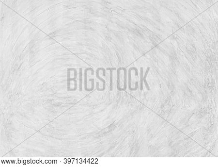 Background And Texture Of Abstract White Gray Concrete Wall Finishing Surface. Vintage Style White C
