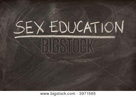 Sex Education As A Class Topic On Blackboard