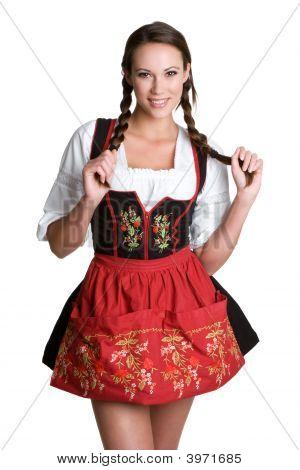 Pretty German Woman