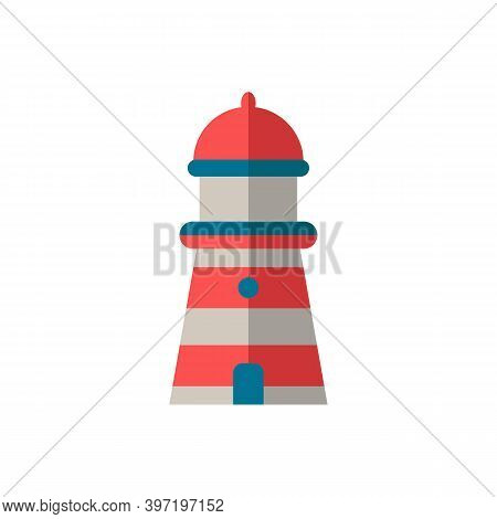 Lighthouse Icon. Simple Element From Port Collection. Creative Lighthouse Icon For Web Design, Templ