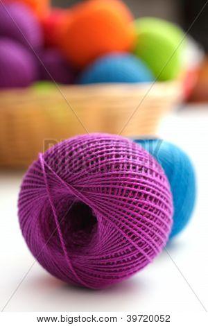 Ball Of Yarn To Crochet