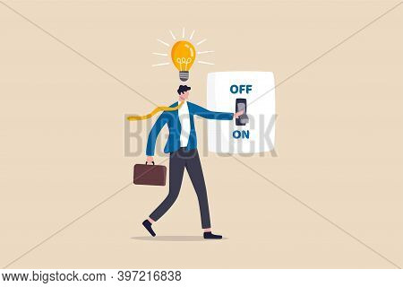 Business Idea And Solution To Solve Company Problem Or Innovation And Strategy To Win Business Succe