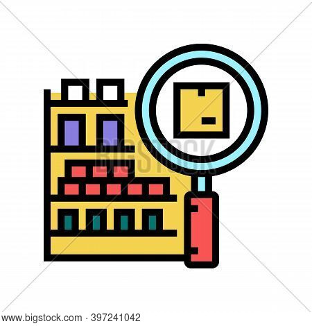 Inventory Management Color Icon Vector. Inventory Management Sign. Isolated Symbol Illustration