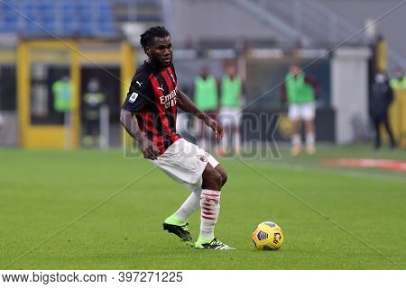 Milano, Italy. 29th November 2020. Franck Kessie Of Ac Milan    During The Serie A Match Beetween Ac