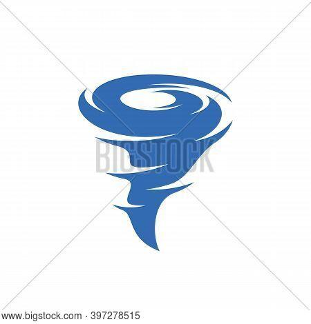 Tornado Logo Vector Template, Creative Tornado Logo Design Concepts, Illustration, Icon Symbol