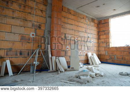 Building A House, Unfinished Interior