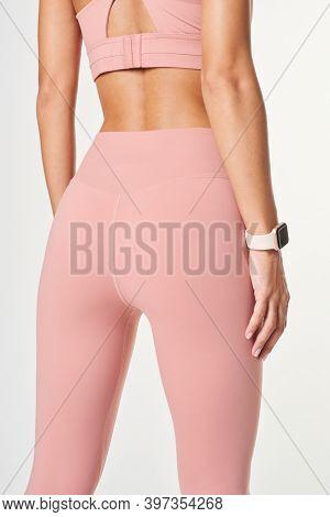 Women's sportswear mockup active wear apparel