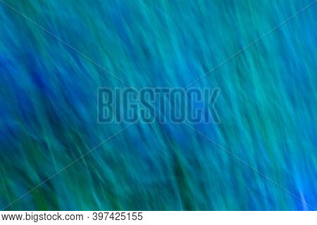 Abstract Blurred Background With Soft Blue And Green Soft Waves.abstract Blurred Background With Sof