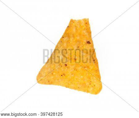 Delicious crispy mexican nacho potato.