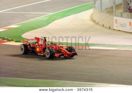 Felipe Massa'S Ferrari Car In 2008 F1