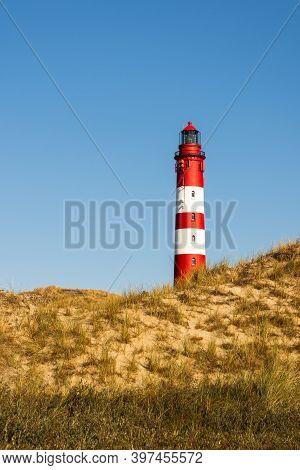 Amrum Lighthouse, Amrum, North Sea, North Frisian Islands, Schleswig-holstein, Germany