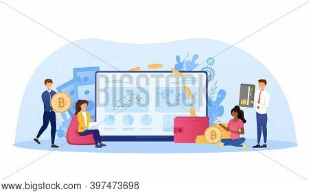 Cryptocurrency Exchange. Blockchain Technology, Bitcoin, Altcoins, Cryptocurrency Mining, Finance, D