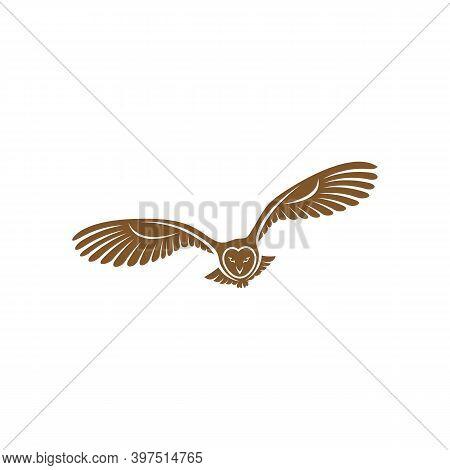 Owl Logo Vector Template, Creative Owl Logo Design Concepts, Illustration