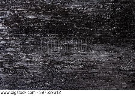 Black Wall Stone Background. Abstract Grunge Dark Stone Texture