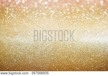 Gold,yellow Abstract Light Background,pink Gold Bokeh Shining Lights,sparkling Glittering Christmas