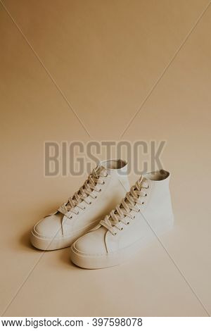 High top sneakers shoes off white