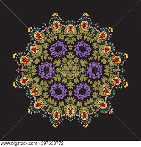 Mandala, Vector Mandala, Floral Mandala, Flower Mandala, Oriental Mandala, Coloring Mandala. Orienta