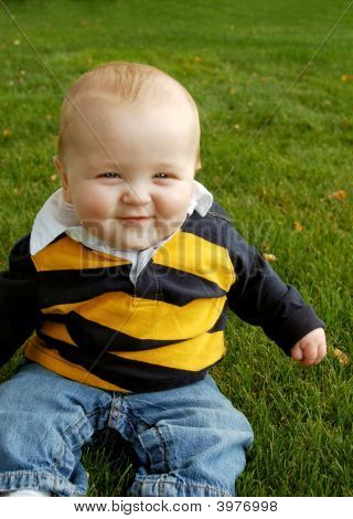 Laughing Chubby Baby