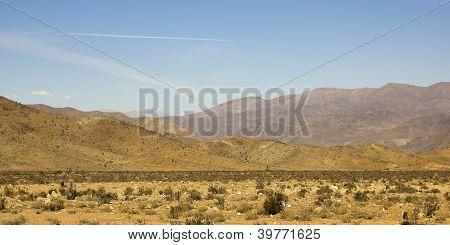 Panoramic Of Atacama Mountains
