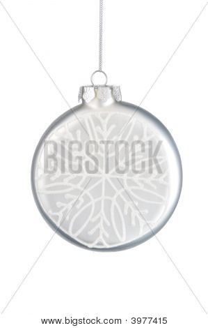 Bauble With Snowflake